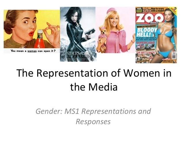 women portrayed in the media New study on the representation of women in media sadly confirms what we already knew a thousand women surveyed by the geena davis institute.