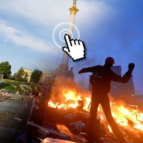 Kiev's battle zone: interactive before and after photos   Geography   Scoop.it