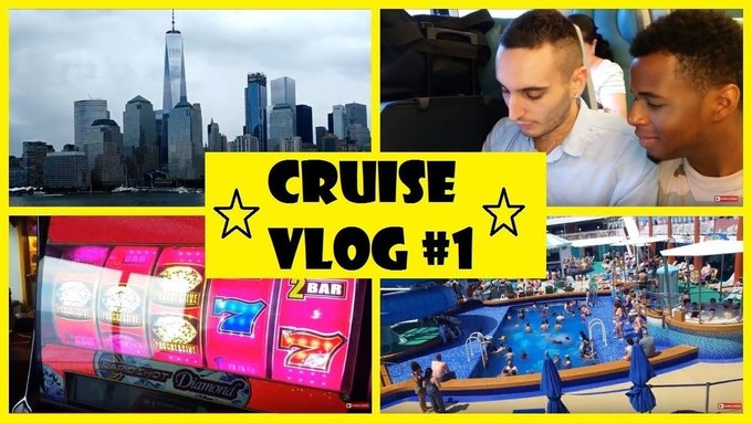 VIDEO: Norwegian Cruise Vlog #1 - Leaving NYC!! (Young Gay Couple)