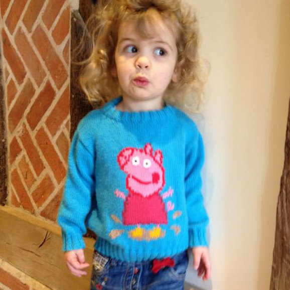 Peppa Pig Jumper Knitting Pattern Downl