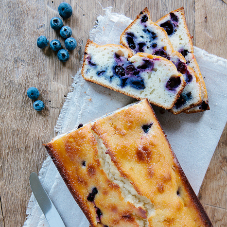 Lemon Blueberry Bread. #Food #Recipes   The Man With The Golden Tongs Hands Are In The Oven   Scoop.it
