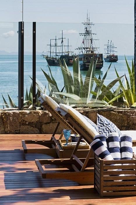 Une maison de plage et de pierres | PLANETE DECO a homes world | Céka décore | Scoop.it