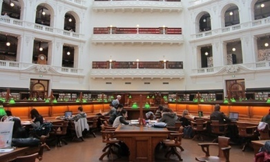 Libraries don't have to be a thing of the past - just look at Melbourne's | School Libraries and the importance of remaining current. | Scoop.it
