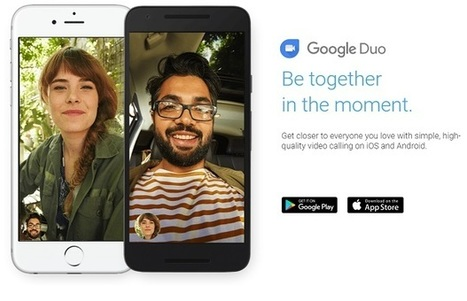 "Google takes on Facetime with ""Duo"" video chat app 
