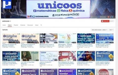 Unicoos, vídeos gratuitos de matemáticas, física y química, en español   Máster en E-learning. Universidad de Sevilla   Scoop.it