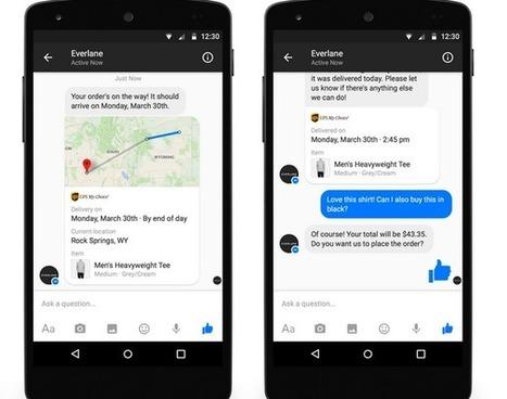 Messenger devient une plateforme e-commerce et Facebook s'attaque à Youtube | Veille Réseaux sociaux | Scoop.it