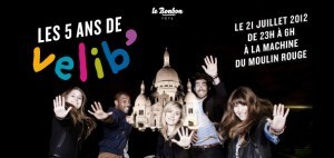 Gagnez des places pour la Soirée des 5 ans de Vélib' !   Paris Secret et Insolite   Scoop.it