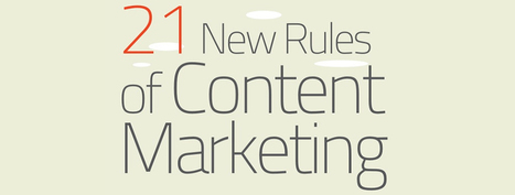 The Basic Rules of Content Marketing [INFOGRAPHIC] - Social Media London | Marketing & Webmarketing | Scoop.it