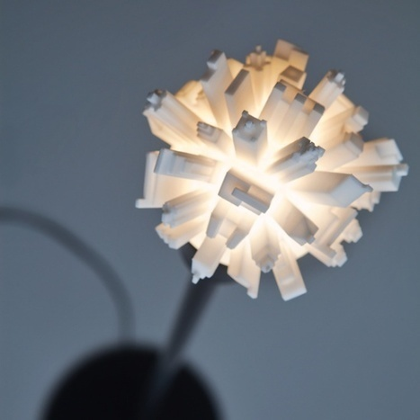 3ders.org - Huddle: Stylish 3D printed lamp features a miniature cityscape | 3D Printing news | Big and Open Data, FabLab, Internet of things | Scoop.it