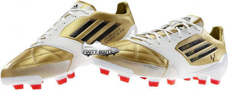 MESSI THE GOLDEN BOOTS | Soccer Boots | Scoop.it