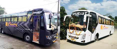 Luxury Bus On Rent In Jaipur In Car Rental Bus Rental Scoop It