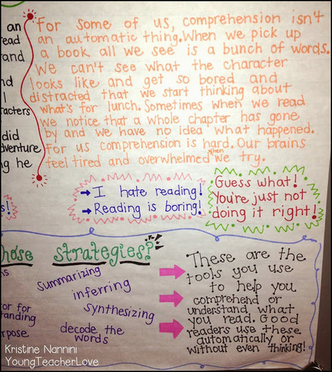 Young Teacher Love: Understanding Comprehension and a Freebie! | Common core standards education | Scoop.it