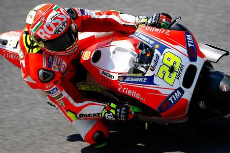Iannone delights Italian fans as Marquez provides the drama | Ductalk Ducati News | Scoop.it