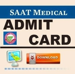 Download SAAT Exam Admit card 2015 Hall Ticket saouniversity.ac.in - All Exam News|Results|Exam Results|Recruitment 2015 | All Exam News | Scoop.it