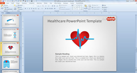 Free Healthcare Powerpoint Template Free Powe