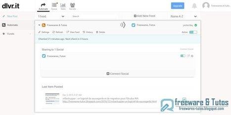 dlvr.it : un outil web pour publier son contenu sur les réseaux sociaux | Time to Learn | Scoop.it