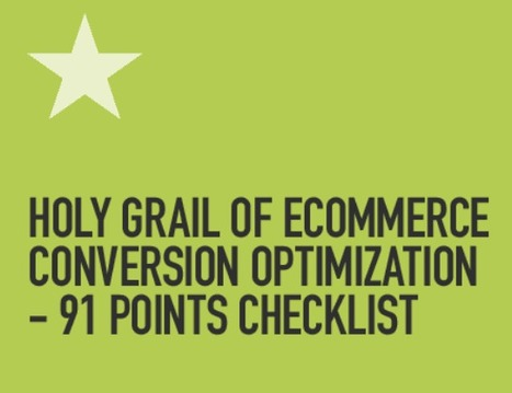 91 points checklist to eCommerce conversion via @cueblocks | Amazon Webstore Design and Development | Scoop.it
