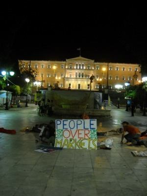 Cleaning Syntagma | March to Athens | Scoop.it