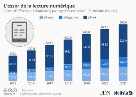 Infographie: le marché de la lecture numérique continue sa forte croissance | L'édition numérique pour les pros | Scoop.it