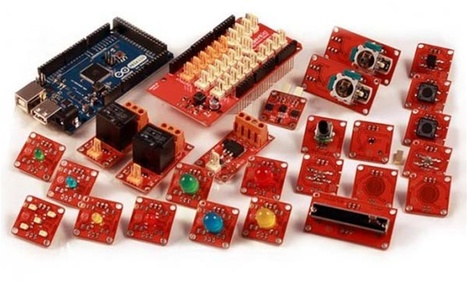MAKE | New in the Maker Shed: Arduino ADK TinkerKit | Kids who design, tinker, prototype and create | Scoop.it