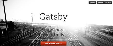Get Gatsby → Cloud Powered Blogs | Instruct.Engage.Connect | Scoop.it
