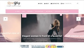Rose Blog | Blogger themes | Scoop.it