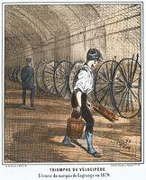 Du cheval au « vélocipède » - L'Histoire par l'image   GenealoNet   Scoop.it