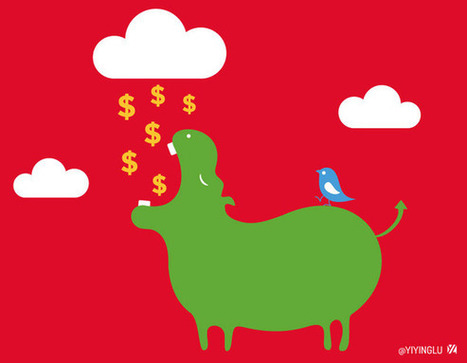 Twitter's 'fail whale' artist follows up with 'IPO hippo'   TechHive   Social Media Scoop   Scoop.it
