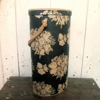 Mid Century Chintz Yarn Holder Dispenser Tote | Vintage Passion | Scoop.it