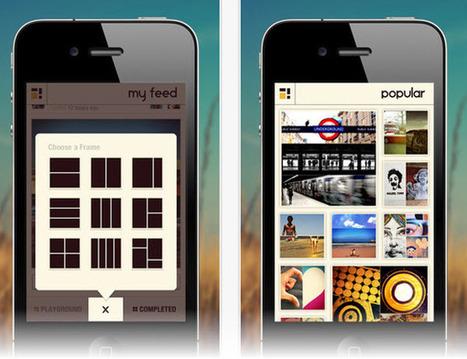 Crear collages colaborativos aplicando filtros con Pixplit [iOS] | iPad classroom | Scoop.it