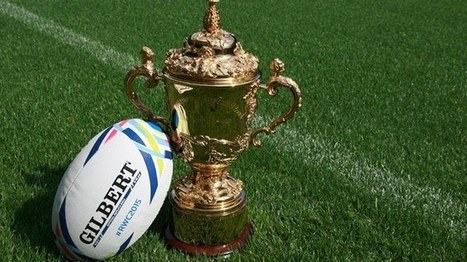 Gilbert dévoile le ballon de la Coupe du Monde de Rugby 2015 | Coté Vestiaire - Blog sur le Sport Business | Scoop.it