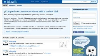 Un twitter de docentes.  EducaBla. | #REDXXI | Scoop.it