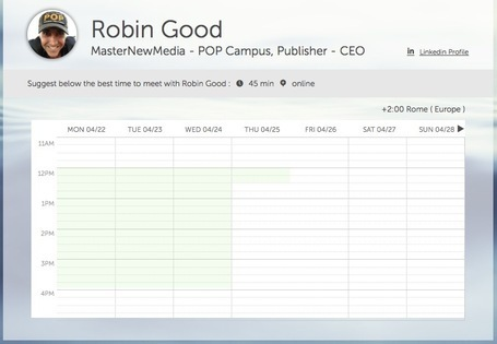 The Personal Public Appointment and Scheduling Calendar: Meetin.gs | Solo Pro World | 21st Century Business | Scoop.it