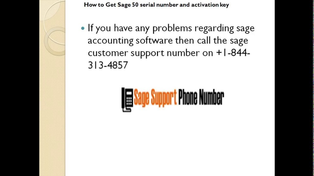 sage 50 accounting 2013 serial number