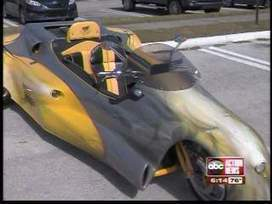 Futuristic three wheeled vehicle is shown to Florida Motorcycle Safety Coalition. | FutureChronicles | Scoop.it