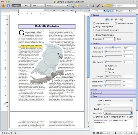 Free Word Processing for MAC | All things library coloured. | Scoop.it