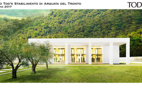 Tod's Delivers Plant Project In Support of Italian Town Hit by Earthquake | Le Marche & Fashion | Scoop.it