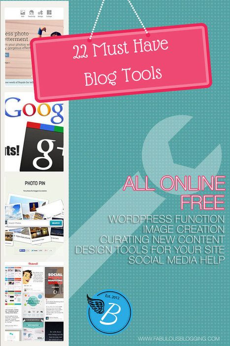 A List of 22 Easy (and mostly free) Blogging Tools | Wordpress Web Design | Scoop.it