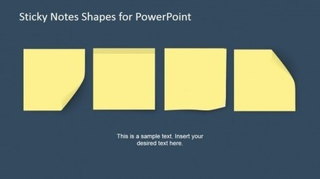 Post It Templates In Powerpoint Presentations Scoop