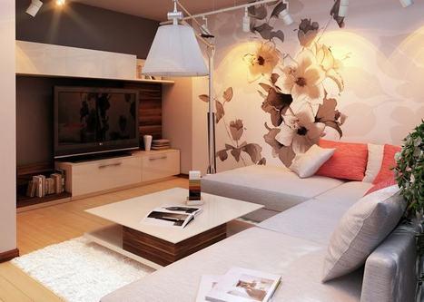Modern nappali szoba ötletek - falsz&iacut...