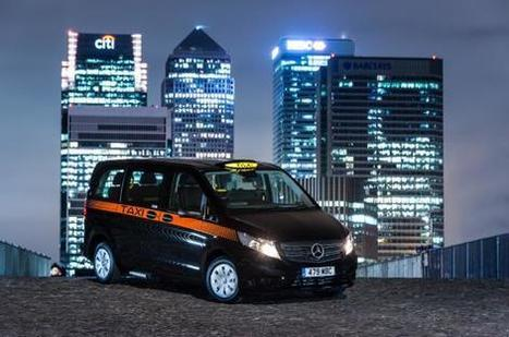 Merc hails new black cab for London | Accessible Travel | Scoop.it