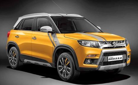 Maruti Suzuki Vitara Brezza Price Review Pics