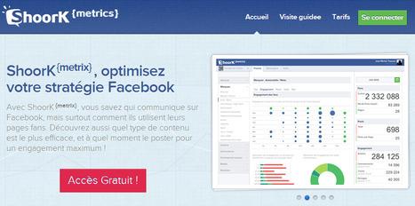 ShoorK {Metrix} - Optimisez votre stratégie Facebook | Community management - médias sociaux | Scoop.it