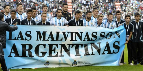 Argentina's Falklands Banner Sparks Anger Ahead Of World Cup | Geography Education | Scoop.it