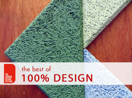 9 Groundbreaking New Materials On Display at 100% Design | Greener World | Scoop.it