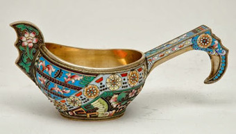 My Antique World: Kovsch: Antique Russian ladle | Antique world | Scoop.it