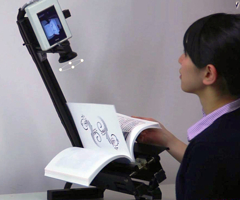 Scanning System Can Make An E-Book From A Traditional Book In Minutes   Anything Mobile   Scoop.it