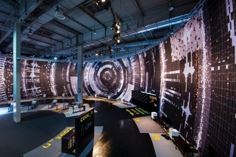 """Massive Visualizations at CeBIT Depict The Scale of """"Big Data"""" 