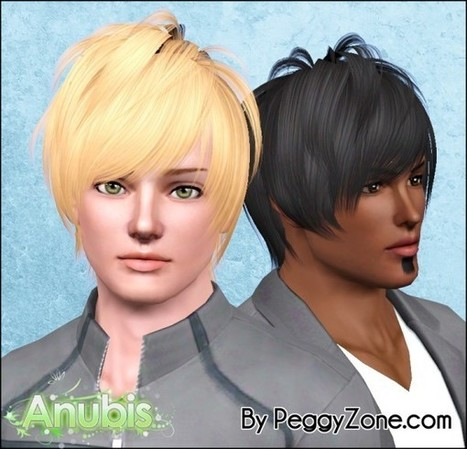 Rocker Hairstyle 104 By Anto Sims 3 Hairs X