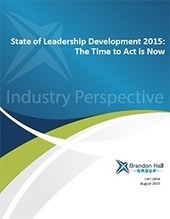 State of Leadership Development 2015: The Time to Act Is Now | SkyeTeam: Leadership-Matters | Scoop.it